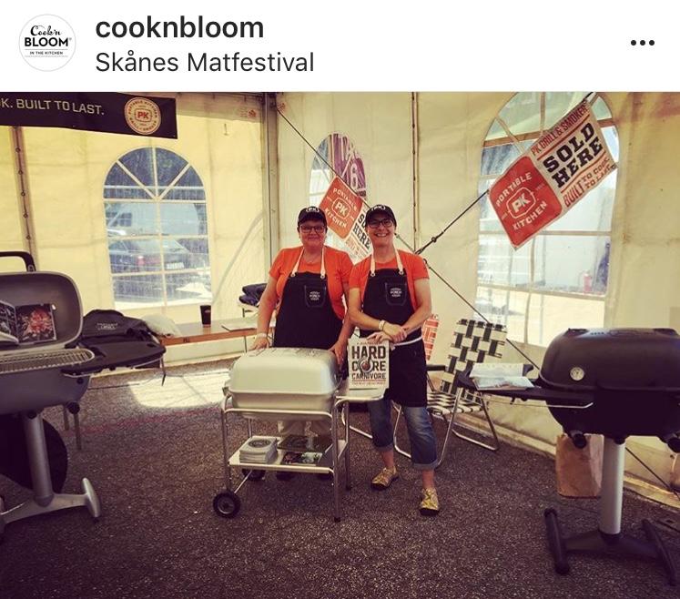EM & SM i grill på skånes matfestival